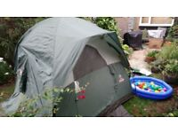 Coleman 4 person Tent - very little use