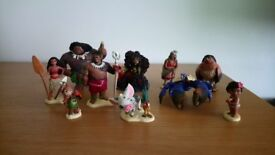 Disney Moana figurines