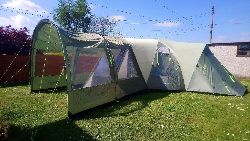 Outwell Hartford XL Tent and Canopy Porch Extension & Outwell Hartford XL Tent and Canopy Porch Extension | in ...