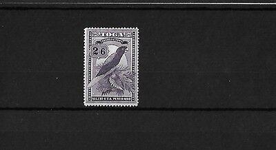 TONGA 1943, 2/6d SCRIPT CA MOUNTED MINT, SG81, CAT £38