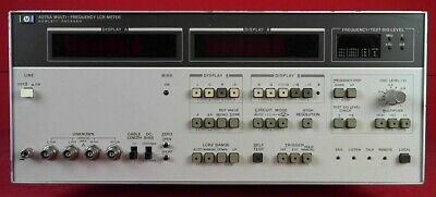 Hp-agilent-keysight 4275a Multi-frequency Lcr Meter 10khz To 10mhz