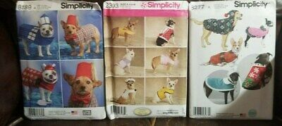 Dr Who Dog Costume (3 Dog Coat Simplicity Sewing Patterns Dr Who Christmas 8277 2393)