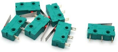 6PCS KW4-3Z-3 Micro Switch Limit 3pin 5A 125V Hinge Lever DC N/O N/C Switches