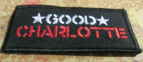 GOOD CHARLOTTE  PATCH NEW  LIMITED PRODUCTION  COLLECTIBLE