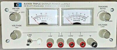 Hp 6205b Dual Dc Power Supply 0-40v .3a 0 - 20 .6a
