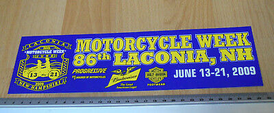 86th Motorcycle Week Laconia New Hampshire USA  - Bumper Stickers