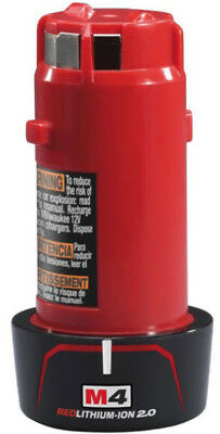 Milwaukee M4 B2 Red-Li-Ionen Akku 2,0Ah neu unbenutzt originalverpackt