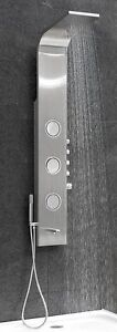 """Shower Panel Brushed Stainless 8-1/2"""" x 59"""""""