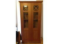 Glass doors closet (£20)