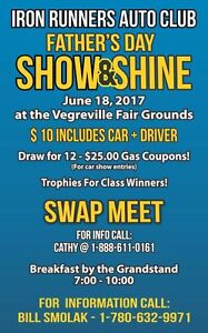 Swap Meet / Show & Shine - Vegreville 18 June 2017