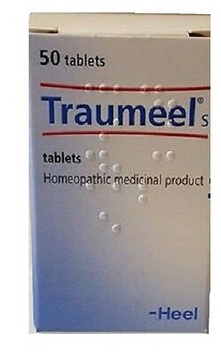 Traumeel S – 50 Tablets - Anti-Inflammatory Pain Relief Homeopathic USA SELLER! ()