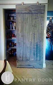 Sliding Modern Barn Style Doors and Hardware!