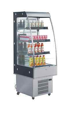 OMCAN RS-CN-0250 8.8cf Open Air Refrigeration GRAB AND GO Display Case