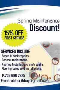 ODDJOBS! Take Advantage of a Spring Discount!
