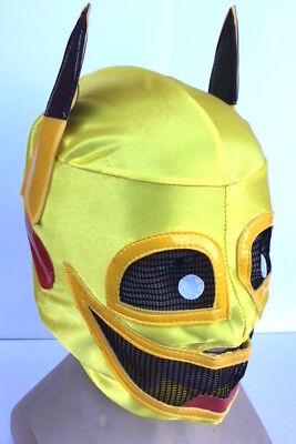 Lucha Libre Mexikanisch Pikachu Wrestling Maske Stoff Kostüm Comic Con - Lucha Libre Kostüm