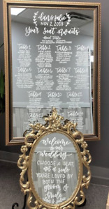 Calligraphy Services & Decor - Miss to Mrs Weddings