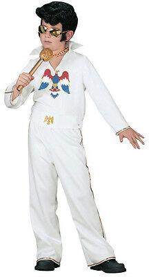Officially Licensed Elvis Child Costume Jumpsuit Size Small 4-6 - Elvis Kid Costume