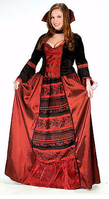 NEW Fun World 120445 PLUS SIZE Women Vampire Queen Adult Costume Cosplay USA