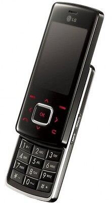 Unlocked Gsm Triband Bluetooth Phone - LG Chocolate KG800 BLACK UNLOCKED TRIBAND CAMERA,BLUETOOTH,GSM SLIDER CELL PHONE