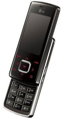 LG Chocolate KG800 BLACK UNLOCKED TRIBAND CAMERA,BLUETOOTH,GSM SLIDER CELL PHONE