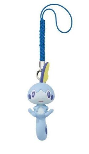 SOBBLE Pokemon Sword & Shield Netsuke Mascot Mini Figure on Cord TOMY