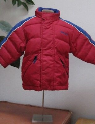 Baby Boy DOWN PUFFER COAT JACKET Ralph Lauren POLO SPORT Red Blue 3mo 6 9 12m