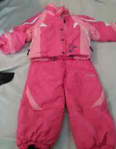 High Quality SPYDER Girls Snow Suit (3T)