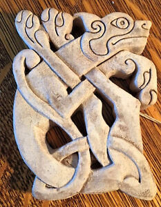 Knotwork Plaque of Dog