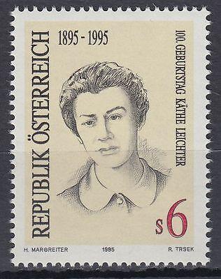 Österreich Austria 1995 ** Mi.2164 Käthe Leichter Widerstandskämpfer Resistance