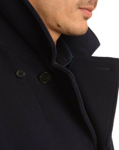 7debafb56b25 KENZO - BRAND NEW MEN S NAVY WOOL COAT - M L - original price £800 -  further reduction to £250!!