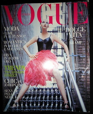 Vtg Vogue 7/1992 Nadja Auermann Stephanie Seymour Yasmeen Ghauri Megan Douglas