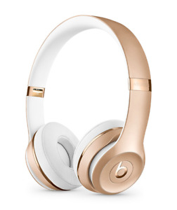 Beats Solo3 Wireless Headphones (SEALED BRAND NEW)- GOLD