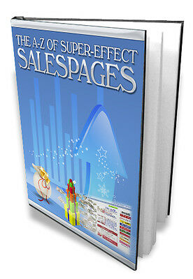Learn How To Make Super Effective Sales Pages From A To Z + Tricks and Tips (CD)