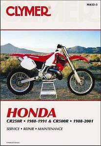 Honda CR250R & CR500R 1988 - 2001 Clymer Owners Service & Repair Katoomba Blue Mountains Preview