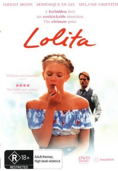 Lolita (1997)  - DVD - NEW Region 4