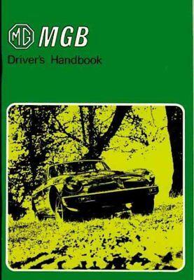 Mgb Tourer & Gt Driver' s  Handbook, Paperback by Brooklands Books Ltd., ISBN... (Driver Handbook)