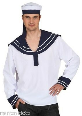 Matrose Marine Sailor Navy Kapitän Uniform Kostüm Offizier Seemann Seefahrer See