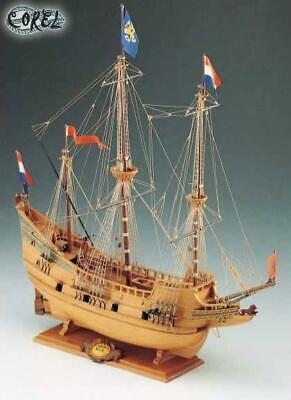 Corel SM 18 Half Moon - Galeone Olandese Kit Nave in legno 1:50 Modellino