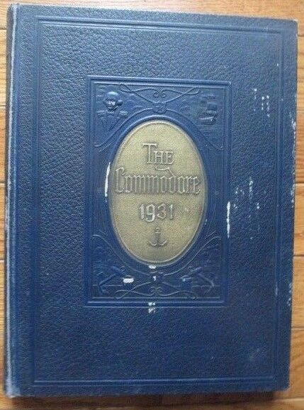 The Commodore, The 1931 Maury High School Yearbook from Norfolk, Virginia