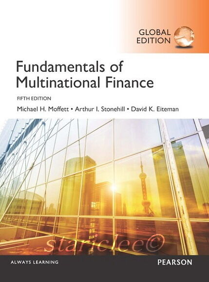 NEW 3 Days AUS Fundamentals of Multinational Finance 5E David Eiteman Stonehill