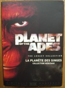 """""""Planet of the Apes"""" DVDs Collectors Edition"""