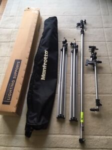 Manfrotto 7 piece Professional Lighting Supports kit