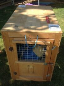 Air Pets wooden Pet Travel Crate.