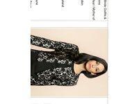 Dress and Jacket by designer Michaela Louisa