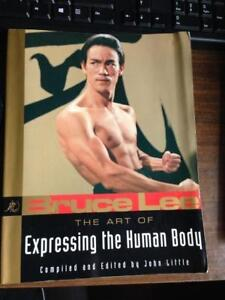 Bruce Lee The Art of Expressing the Human Body / Book