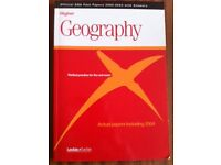 LECKIE & LECKIE HIGHER GEOGRAPHY WITH OFFICIAL SQA PAST PAPERS 2000-2014 WITH ANSWERS.