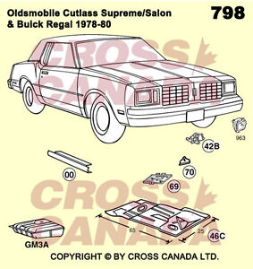 Cutlass Restoration Panels Available Brand New London Ontario image 2