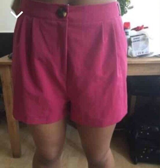 New look shorts size 12