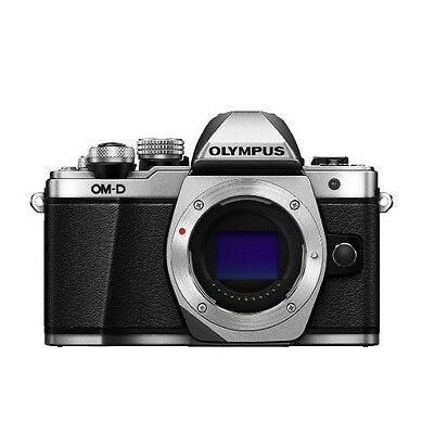 Olympus OM-D E-M10 Mark II Mirrorless Digital Camera  Only Body - Silver