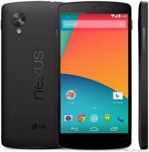 8x Lg Nexus 5 16g Unlock 200$ Neuf** Option Cell Phone